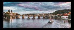 Obraz Karlův most a Vltava
