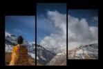 Obraz Budha a hory