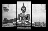 Obraz na plátne Sedící Budha