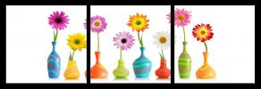 Obraz Květy ve váze