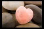 Obraz Kameny a srdce