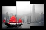 Obraz Hong Kong a loď