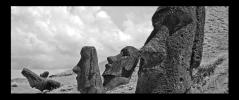 Obraz Sochy Moai