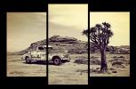 Obraz Auto v poušti