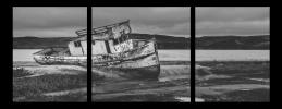 Obraz Loď na písku