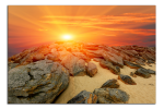Obraz Kameny na pláži