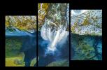 Obraz Vodopád seshora
