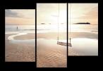 Obraz Západ na pláži
