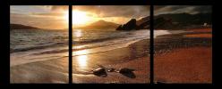 Obraz Hnědá pláž