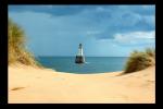 Obraz Pláž a maják