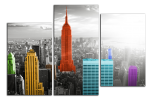 Obraz New York v barvách