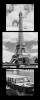 Obraz Eiffelovka a Seina