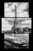 Obraz Eiffelovka a řeka