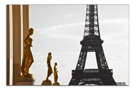 Obrazy Paříž 1008