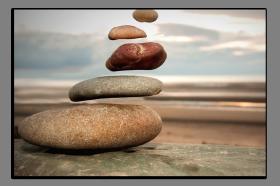 Obrazy zen kameny 1017