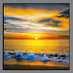 Obrazy západ slunce 1097