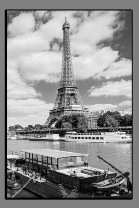 Obrazy čistě černobílý 1125