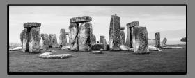 Obrazy čistě černobílý 1140