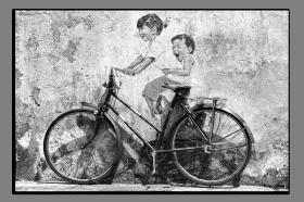Obrazy čistě černobílý 1142