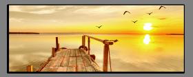 Obrazy západ slunce 1185