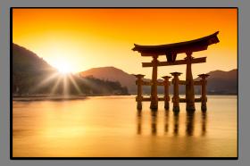 Obrazy západ slunce 1190