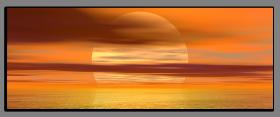 Obrazy západ slunce 1191