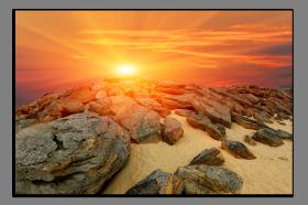 Obrazy západ slunce 1211