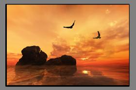 Obrazy západ slunce 1217