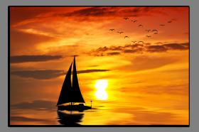 Obrazy západ slunce 1221