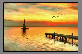 Obrazy západ slunce 1230