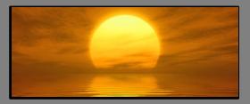 Obrazy západ slunce 1239