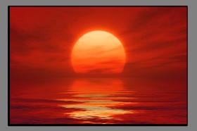 Obrazy západ slunce 1291