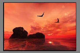 Obrazy západ slunce 1314
