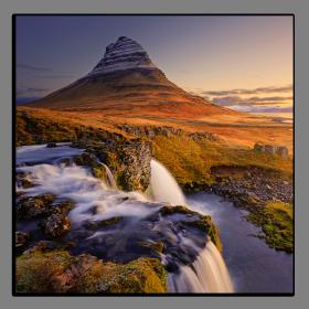 Obrazy vodopády 1387