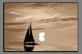 Obrazy západ slunce 1489