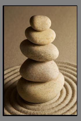 Obrazy zen kameny 1512