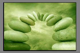 Obrazy zen kameny 2084