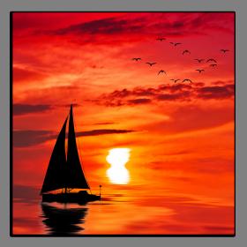 Obrazy západ slunce 2102