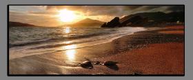 Obrazy západ slunce 2134