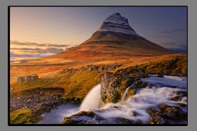 Obrazy vodopády 2172
