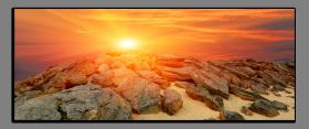 Obrazy západ slunce 2195