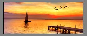 Obrazy západ slunce 2276