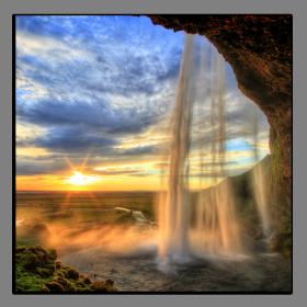 Obrazy vodopády 2287