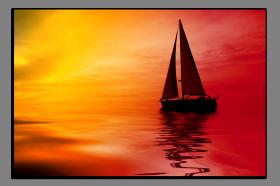 Obrazy západ slunce 2508
