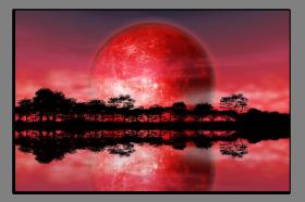 Obrazy západ slunce 2553