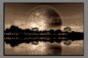 Obrazy západ slunce 2557