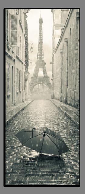 Obrazy Paříž 2580