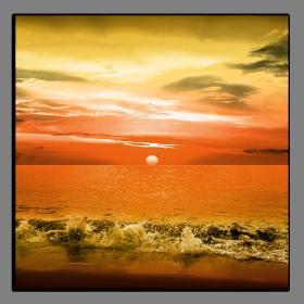 Obrazy západ slunce 2588