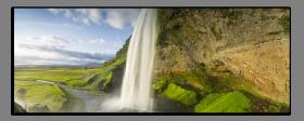 Obrazy vodopády 2634
