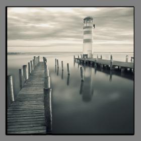 Obrazy čistě černobílý 2647